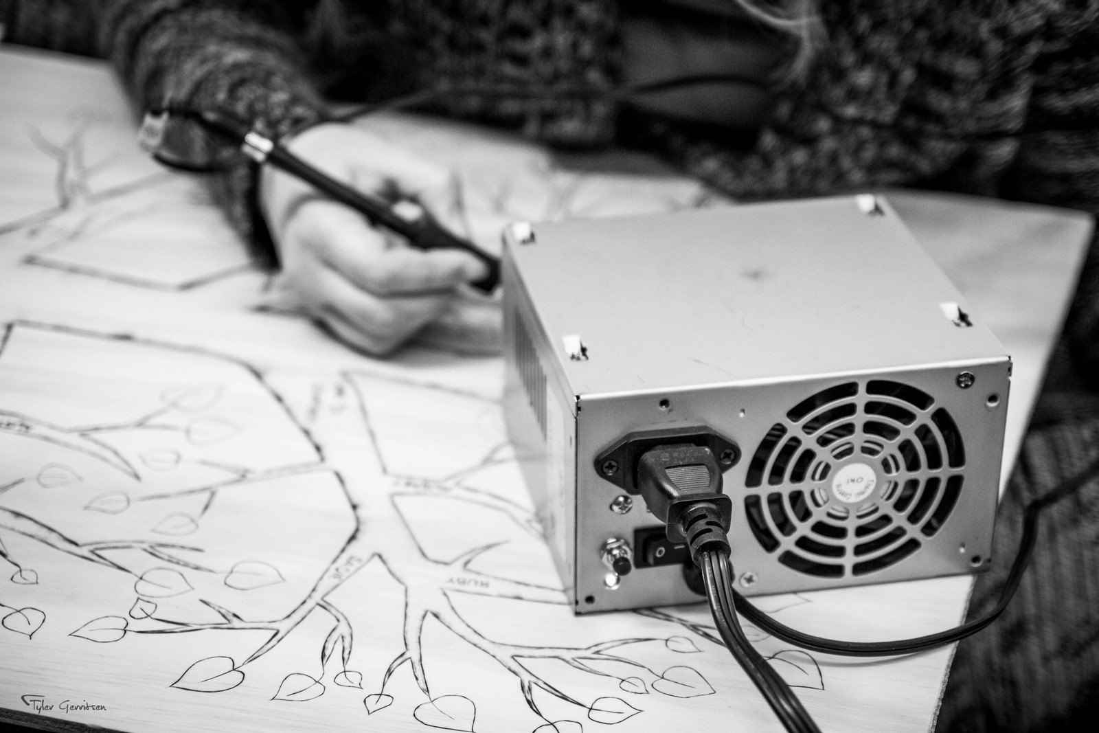 Pyrography Power Supply #DIY