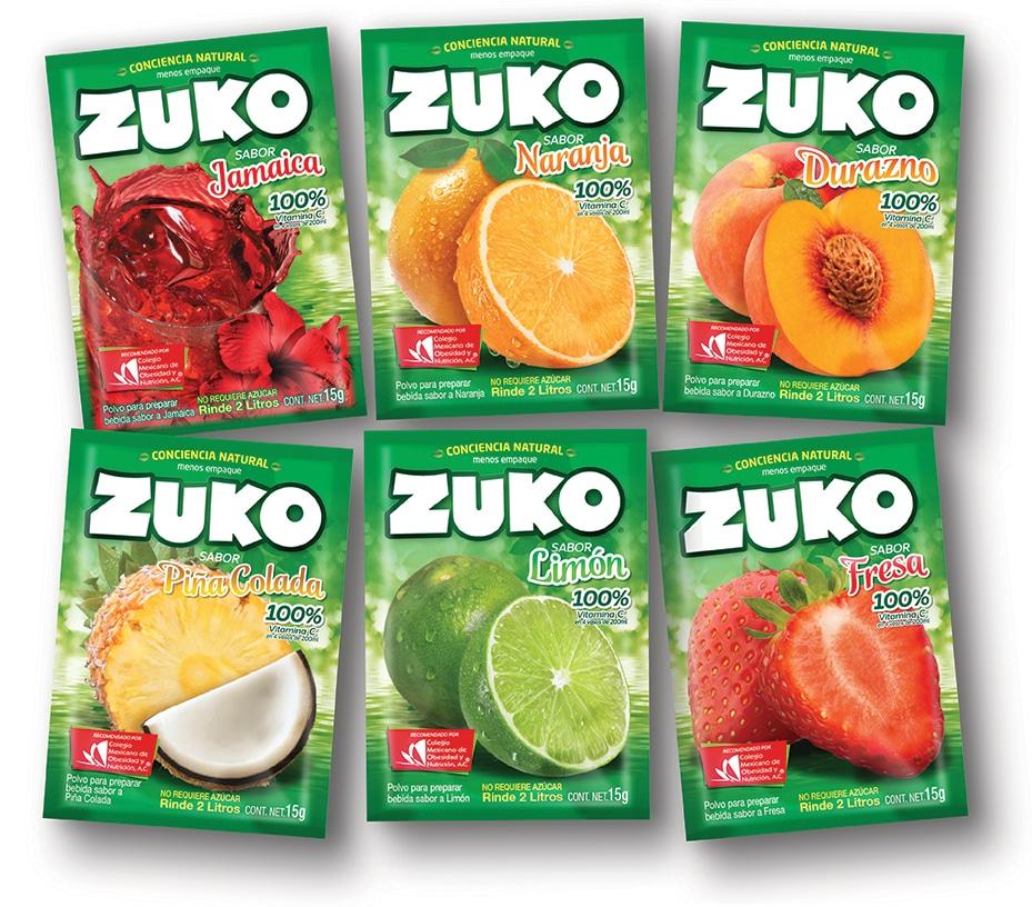 Zuko diseño empaque
