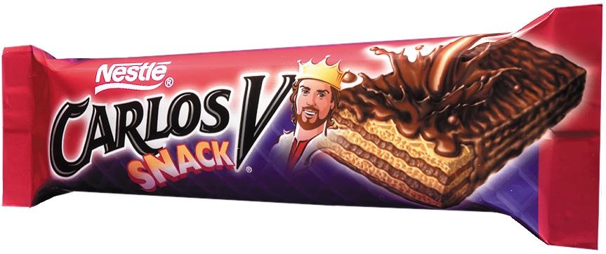 Carlos V Snack extensión de linea