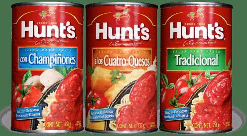 Hunts diseño anterior
