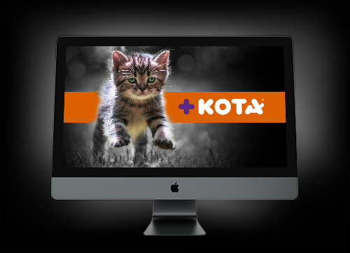 Screen Saver +KOTA Gato TD2