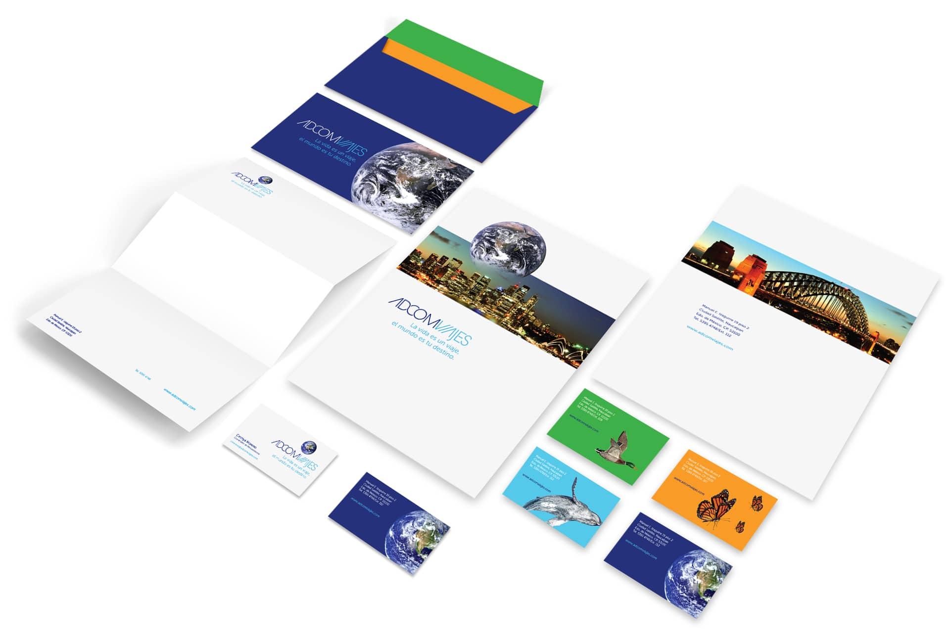 Diseño-papelería-Adcom-TD2Branding