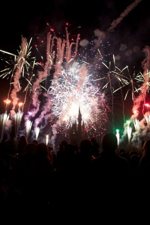 You have truly never seen fireworks until you've seen them at Walt Disney World.