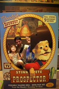 Trapped in a box with Stinky Pete??? Ewwww!