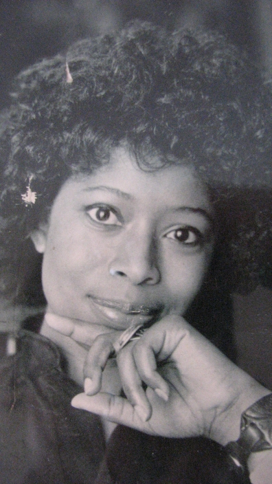 A picture of Alice Walker 1976, by Bernard Gotfryd I have had in a frame since I was a kid.