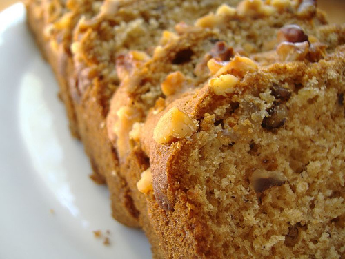 have a few recipes for banana bread nut it depends on