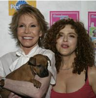 Mary Tyler Moore and Bernadette Peters Broadway Barks 2008