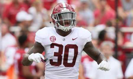 Mack Wilson Alabama linebacker