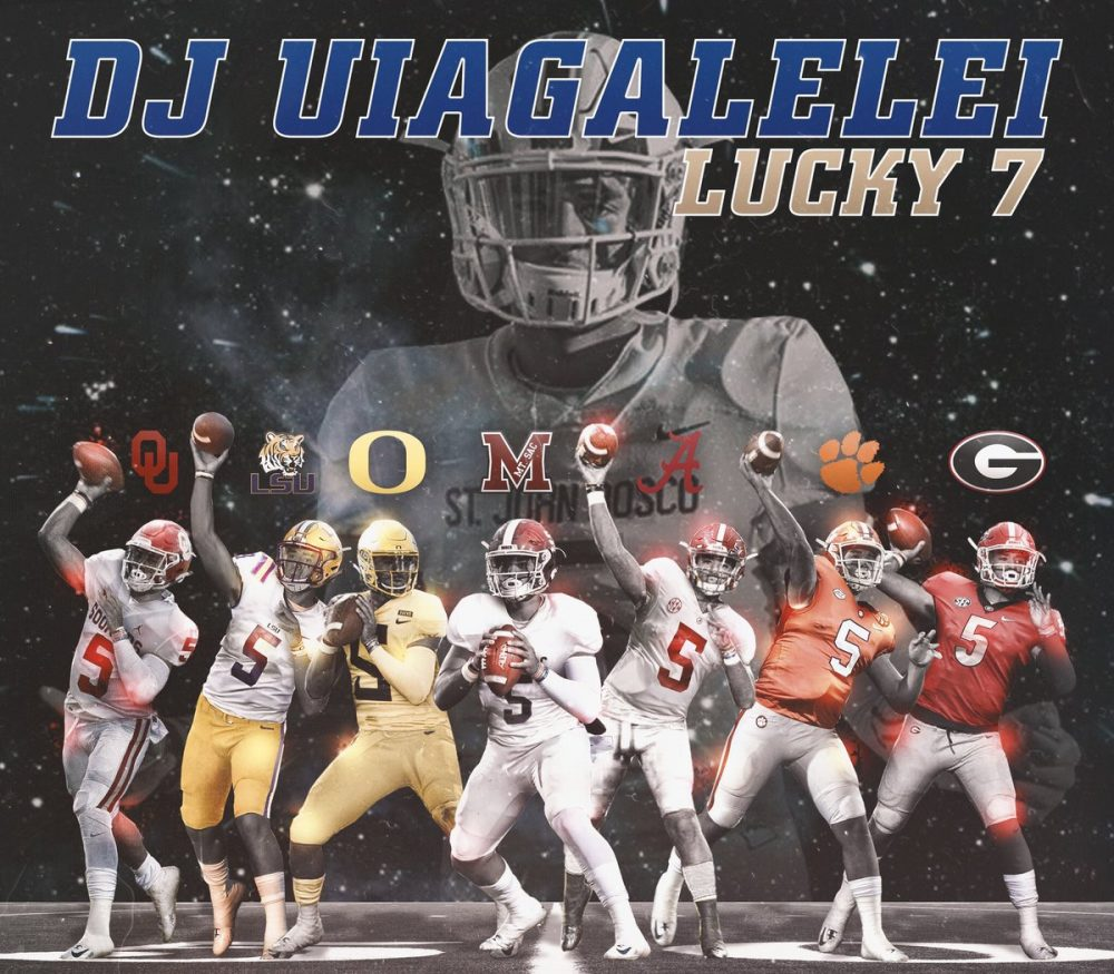 DJ Uiagalelei Announces Top 7