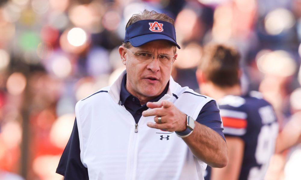 Auburn head coach, Gus Malzahn said Tigers plan on 'keeping Iron Bowl Trophy for a long time'