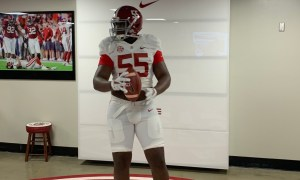 Alabama 3-Star Dt commit Anquin Barnes