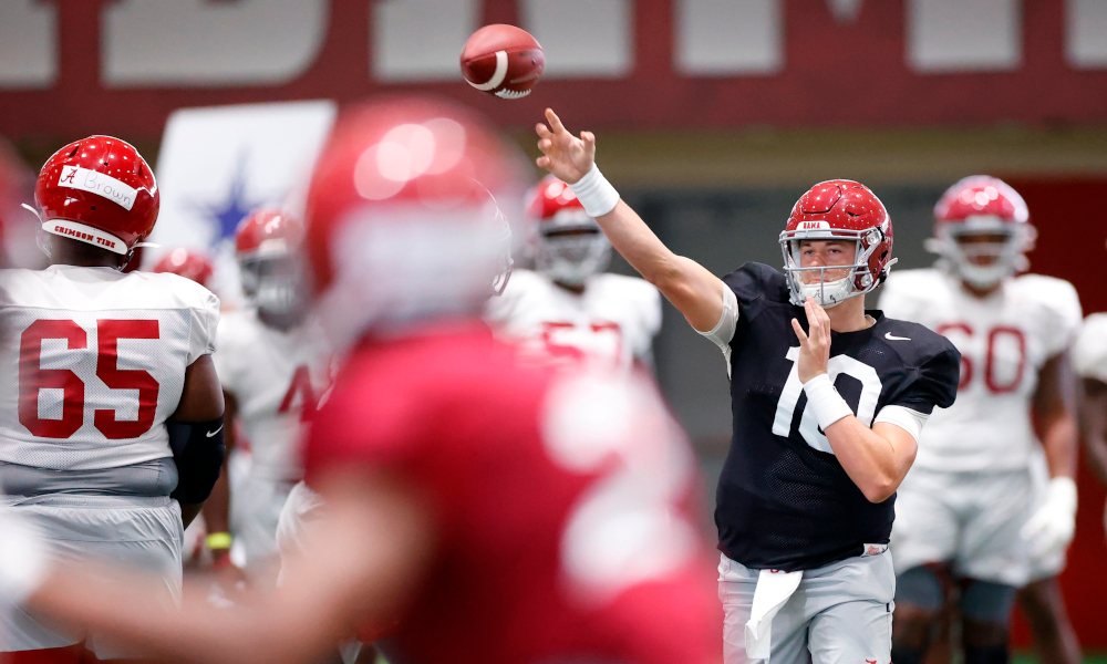 Blake Sims weighs in on Alabama's starting quarterback for this season