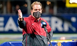 Nick Saban interview after winning SEC Championship