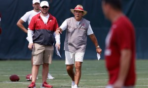 Alabama Head Coach Nick Saban Photo by