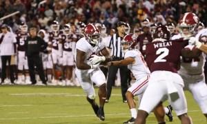 Brian Robinson running through tackles