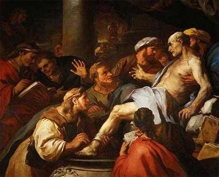 La muerte de Séneca de Luca Giordano