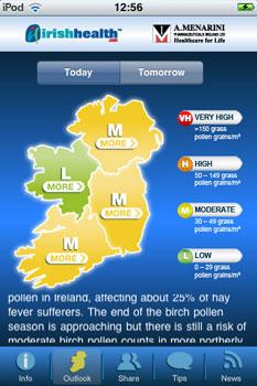 Pollen Alert Ireland