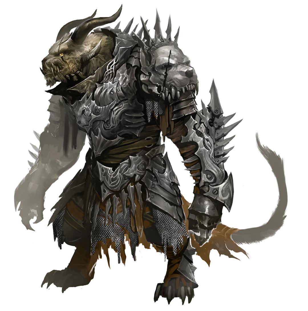 Charr Armor Rytlock Update WIP Blog