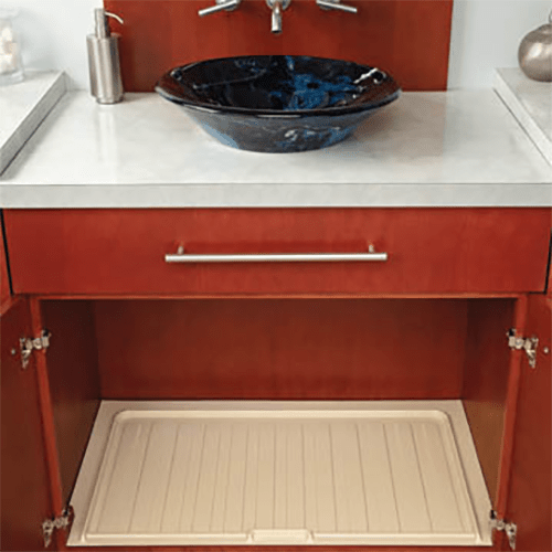 under sink vanity drip tray