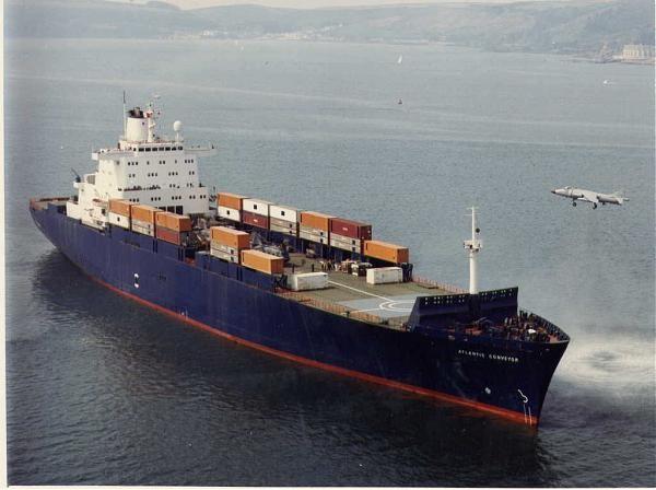 ss atlantic conveyor ile ilgili görsel sonucu