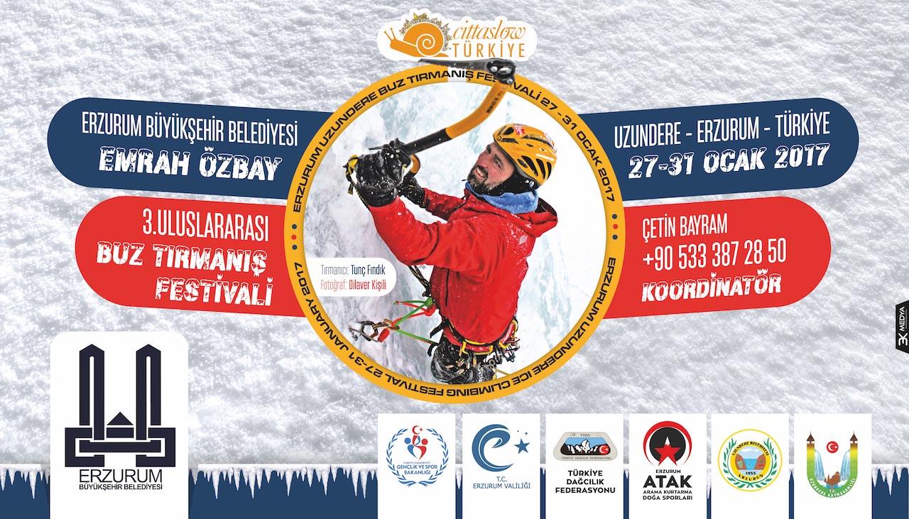 3. Emrah Özbay Uluslararası Buz Tırmanış Festivali