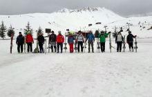 Dağ Kayağı Temel Eğitimi Isparta'da yapıldı.