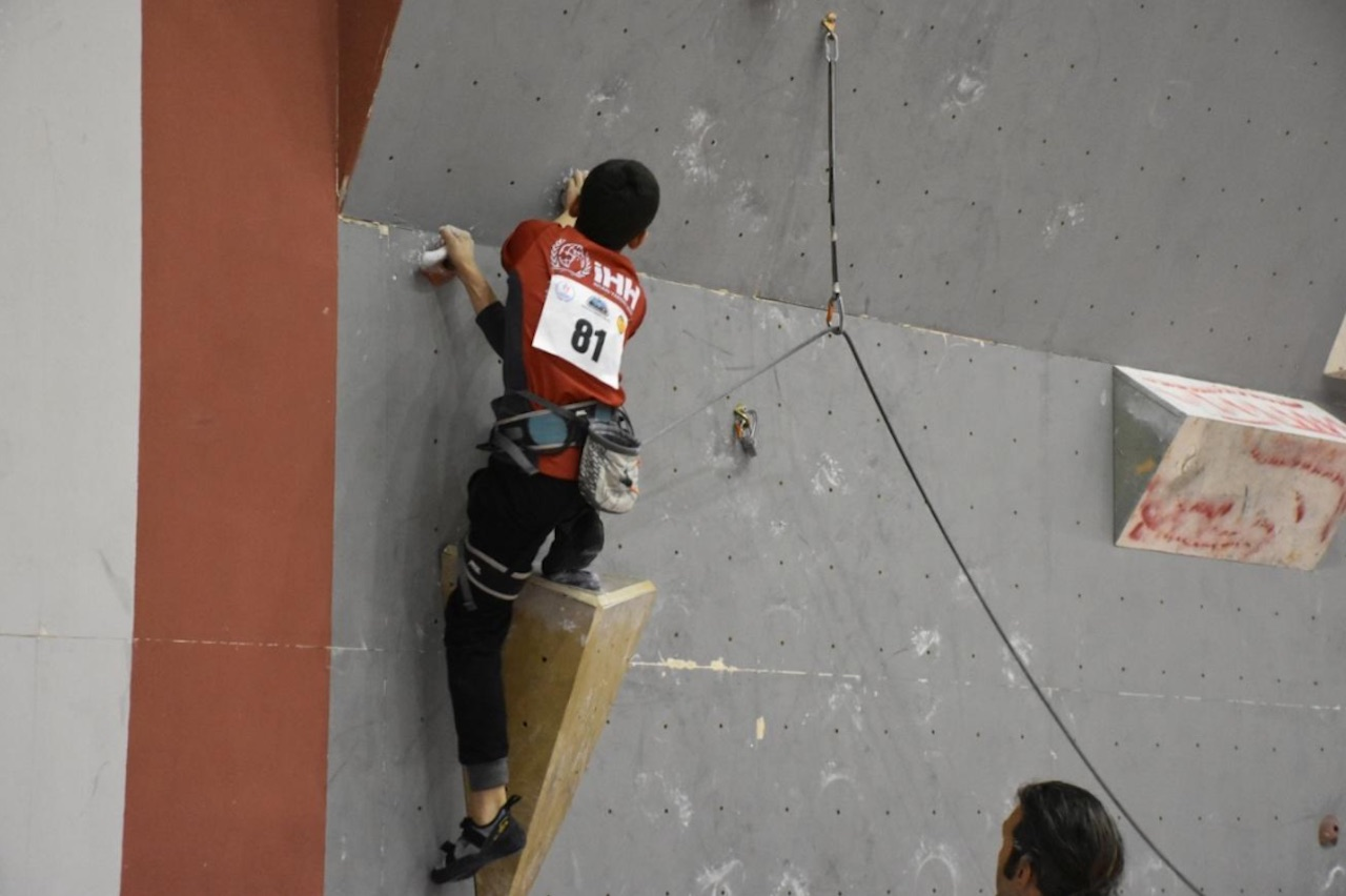 Spor Tırmanış Büyükler Lider Tırmanış Şampiyonası 1. Ayak Katılımcı Listesi