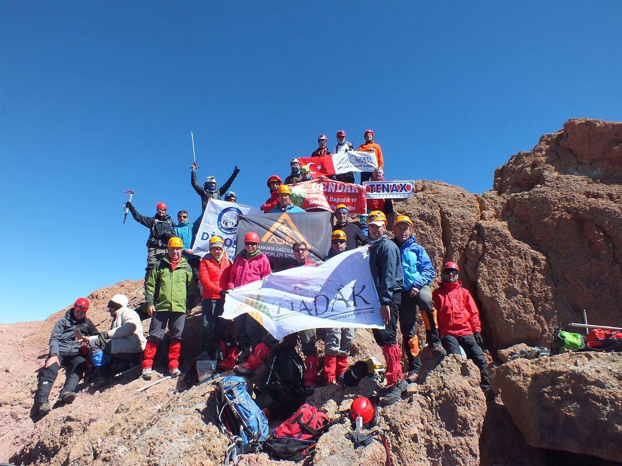 HADAK Geleneksel Erciyes Sütdonduran Kuzey Zirve Tırmanışı