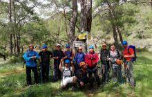 Antalya'da düzenlenen Yaz Yürüyüş Liderliği Eğitimi tamamlandı.