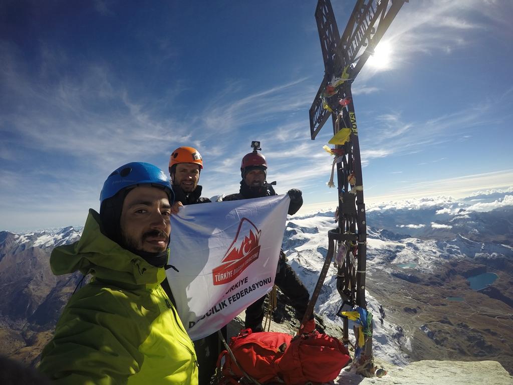 TDF 2018 Proje Bazlı Tırmanışlarından Matterhorn ve Dufourspitze tırmanışları tamamlandı.