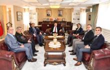 Gümüşhane Valiliği ve Belediye Başkanlığı'na ziyaret gerçekleştirildi.