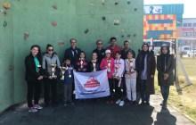 Aksaray Okul Sporları Spor Tırmanış Yarışmaları tamamlandı.