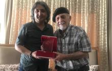 Sayın Muzaffer Erol Gez'e teşekkür plaketi verildi.