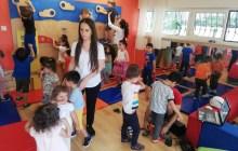 Türk-Amerikan Derneği Anaokulu'nda minik eller spor tırmanış ile tanıştırıldı.