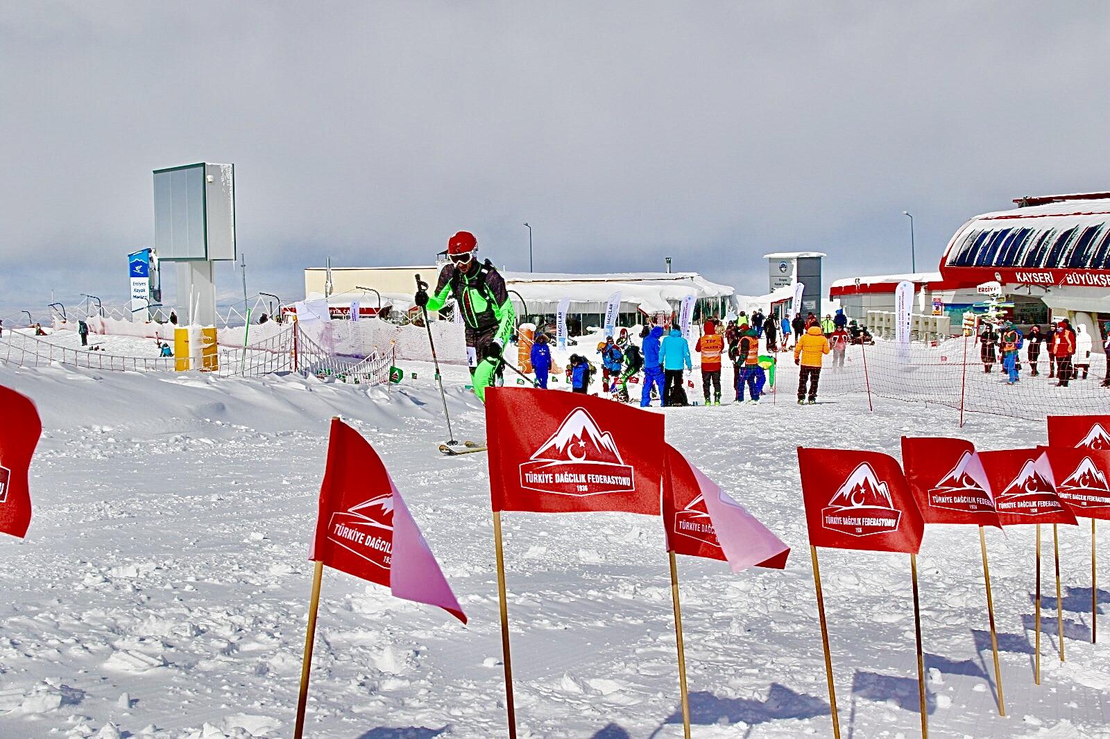 Erciyes Uluslararası Dağ Kayağı Yarışması Sonuçları