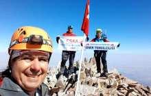 Eska Gençlik ve Spor Kulübü Erciyes Dağı Tırmanışı tamamlandı.