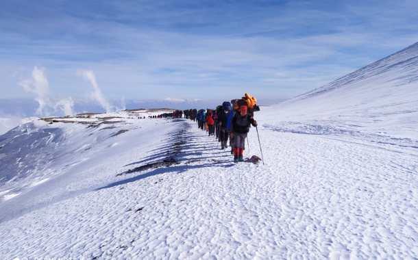 29 Ekim Erciyes Dağı Cumhuriyet Tırmanışı Başvurusu Uzatıldı