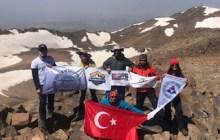 Süphan Dağı Zirve Tırmanışı kulüpler ortak faaliyeti ile gerçekleştirildi.