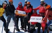 Süphan Dağcılık Kulübü Kazbek Dağı tırmanışını gerçekleştirdi.
