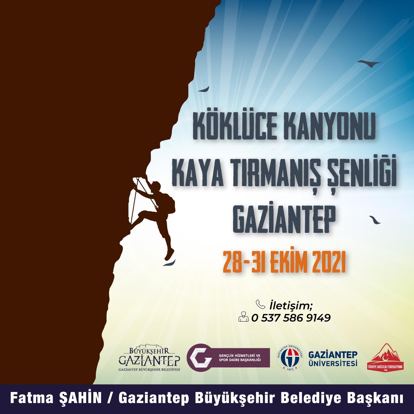 Kaya Tırmanış Şenliği-Gaziantep