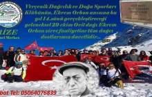 29 Ekim Ovit Dağı Ekrem Orhon Zirve Tırmanışı
