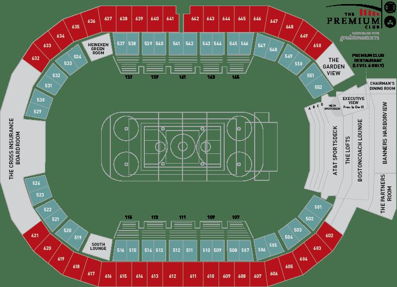 Td Bank Celtics Seating Chart