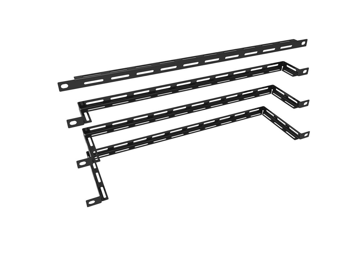 19″ 1/2U Horizontal Lacing Bars