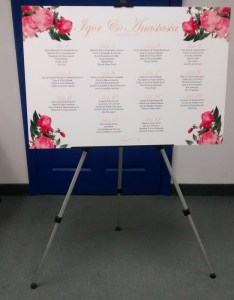Wedding seating chart board also print toronto woodbridge td images rh tdimagies