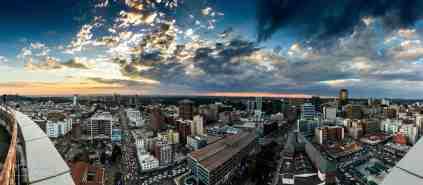 Harare_CBD_Sunset_West_2