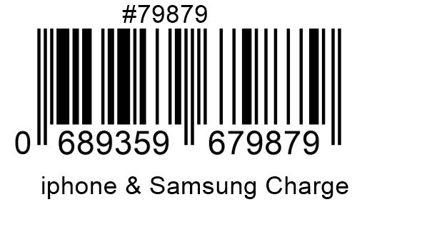 Brand NEW Charging cable for BOTH iPhone and Samsung