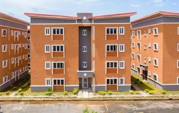 COMMISSIONING OF 360 HOUSING UNITS IN IKORODU, LAGOS
