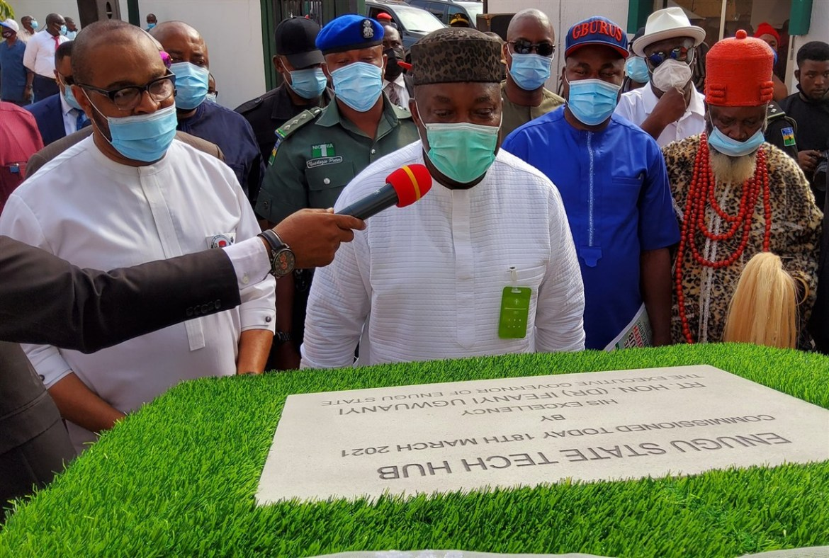 Gov. Ugwuanyi Inaugurates New Tech Hubs, Youth Innovation Centers