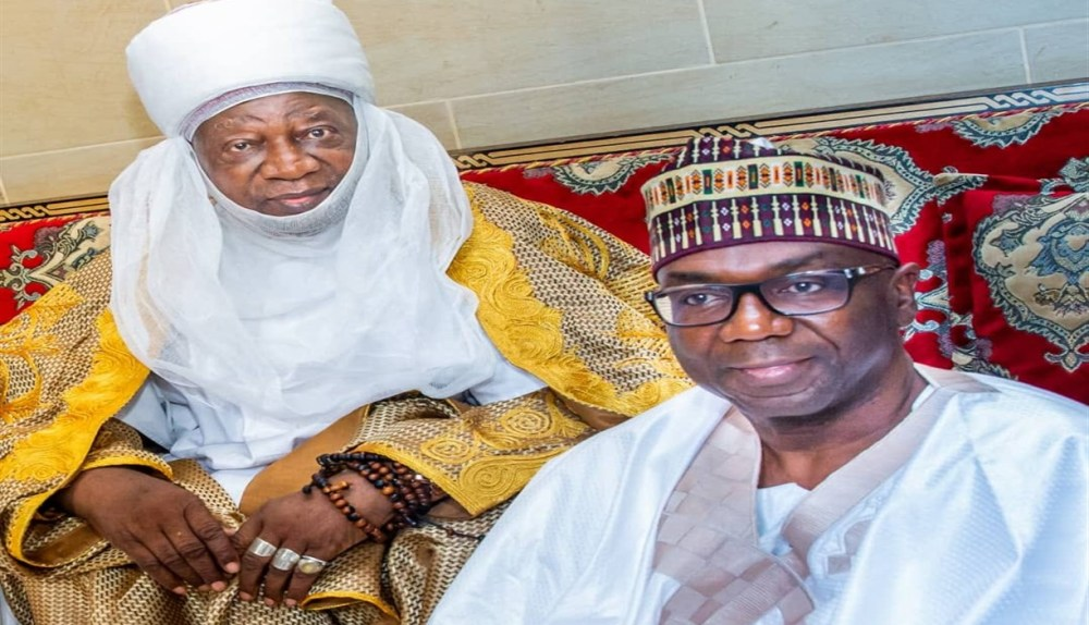 Emir of Ilorin and Kwara state governor