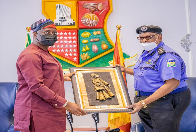 Makinde Hosts New Assistant Inspector General Of Police